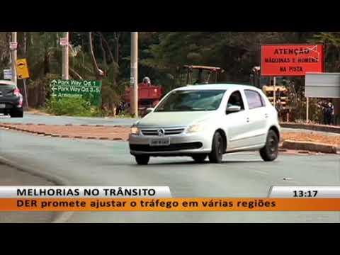 JL -  DER promete ajustar o tráfego em várias regiões