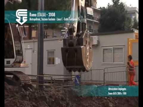 Casagrande Tec Baya diaphragm wall grab -piling equipment, drilling rigs for sale