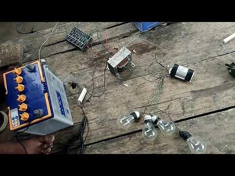 Setrum ikan tanpa plati.. menggunakan transistor d718. Dan Trafo 5 amper murni