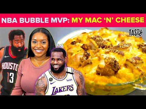 How I Made The Famous NBA Bubble Buffalo Mac N' Cheese • Tasty