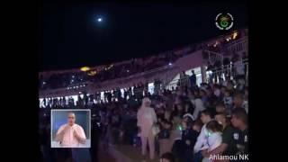 تقرير عن حفل نجوى كرم في تيمقاد الجزائر بالغتين العربية و الفرنسية