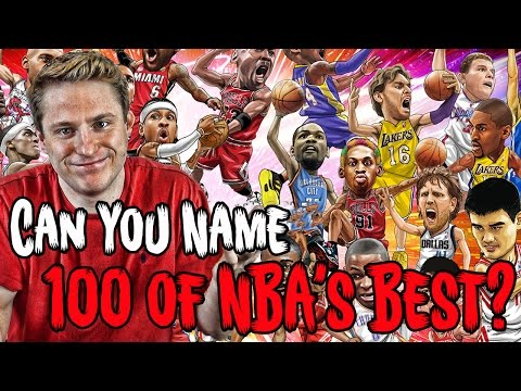 Can YOU NAME The 100 Greatest Players In NBA History?