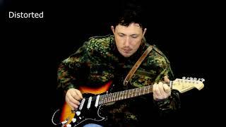 Aria STG 003 SPL Electric guitar demonstration