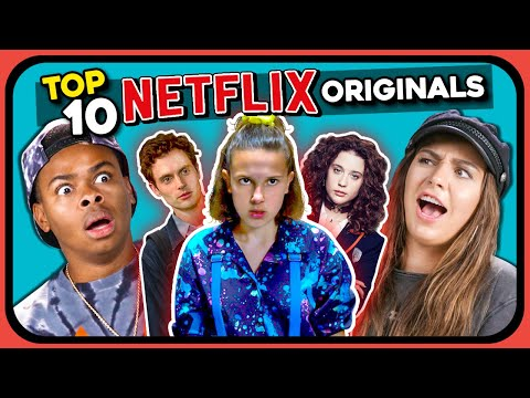 Top 10 Most Viewed Netflix Originals Of All Time | YouTubers React