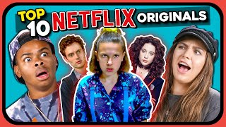Baixar YouTubers React To Top 10 Most Viewed Netflix Originals Of All Time