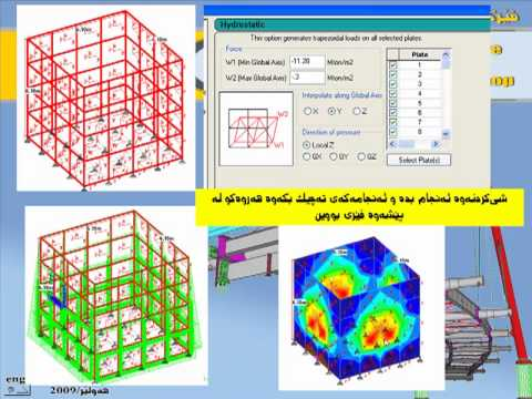 Tank & Dome Analysis Staad Pro