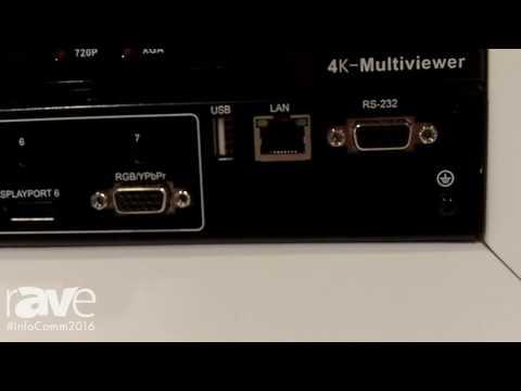 InfoComm 2016: tvONE Launches 1T-MV-8474 4KMultiviewer