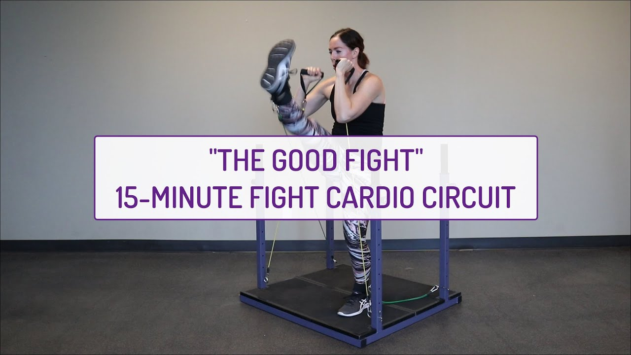The Good Fight | 15-Minute Fight Cardio Circuit | Evolution Training System