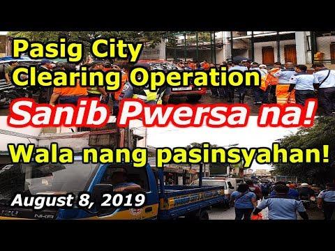 WARNING NOTICE!! Clearing Operation, Brgy. Caniogan, Pasig City 2019 Metro Manila..