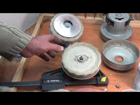Как разобрать двигатель на пылесосе самсунг видео