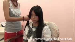 刈り上げJK 5  ☆ High School Girl Haircut  Short BOB  断髪