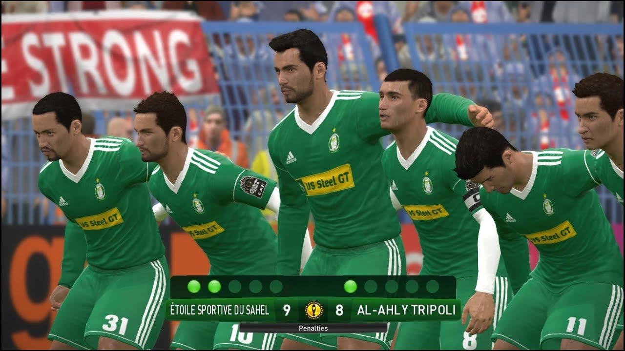 Etoile Sportive Du Sahel Vs Al Ahly Tripoli Caf Champions League Quarter Finals Gameplay