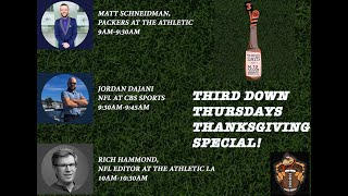 Third Down Thursdays Thanksgiving NFL Special!
