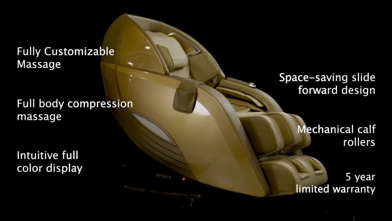 Dynasty 4D Massage Chair Available at Engage Wellness Solutions