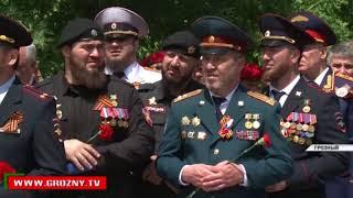 В центре Грозного открыт памятник Герою Советского Союза Ханпаше Нурадилову
