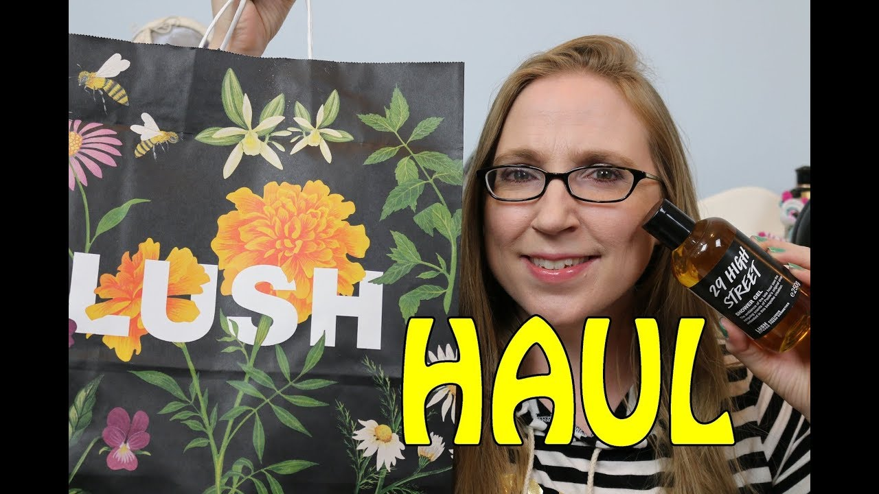 LUSH UK Kitchen Haul Jelly Bath Bombs & More! - YouTube
