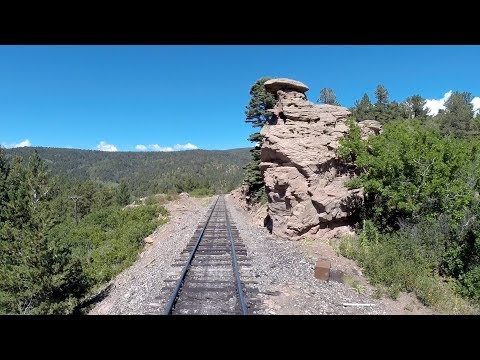 Rio Grande Scenic Railroad – Fake Driver's Eye View - La Veta to Fir (Colorado)