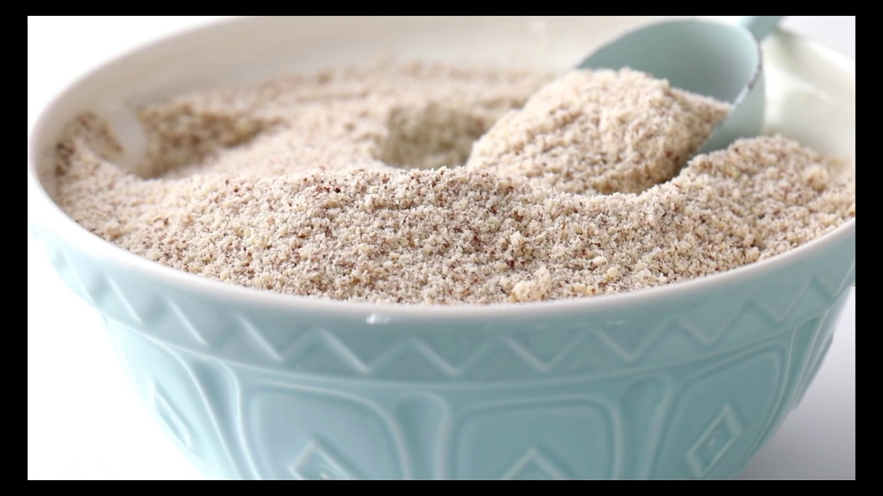 HOW TO MAKE ALMOND FLOUR , BASIC RECIPE EP1 - YouTube