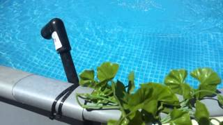 Intex pool solar heater and fountain
