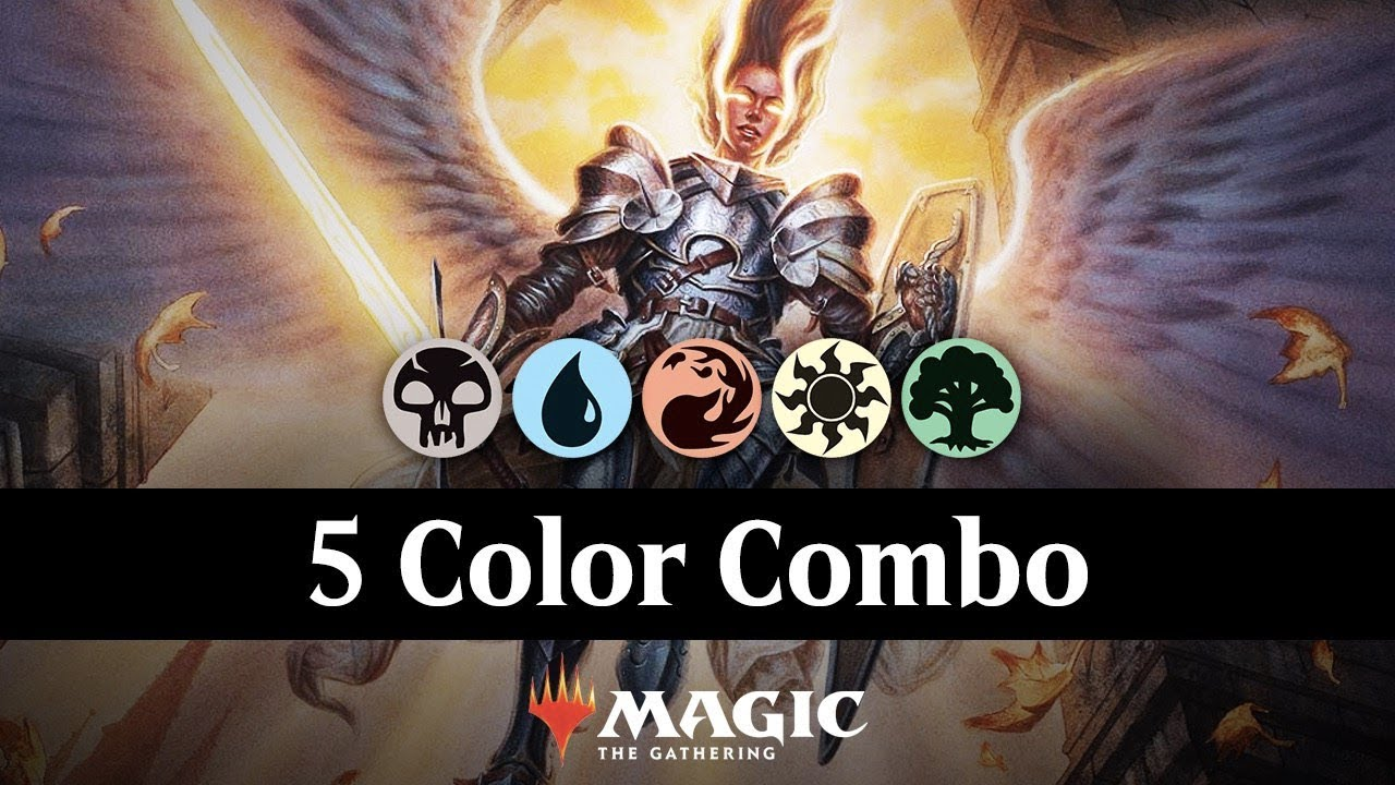 DRAW YOUR DECK | Lich's Mastery & Archway Angel 5 Color