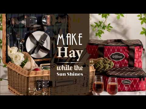 Hay Hampers - Best Picnic hampers - #WaHayHampers