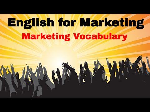 Learn Business English ESL Vocabulary  Marketing