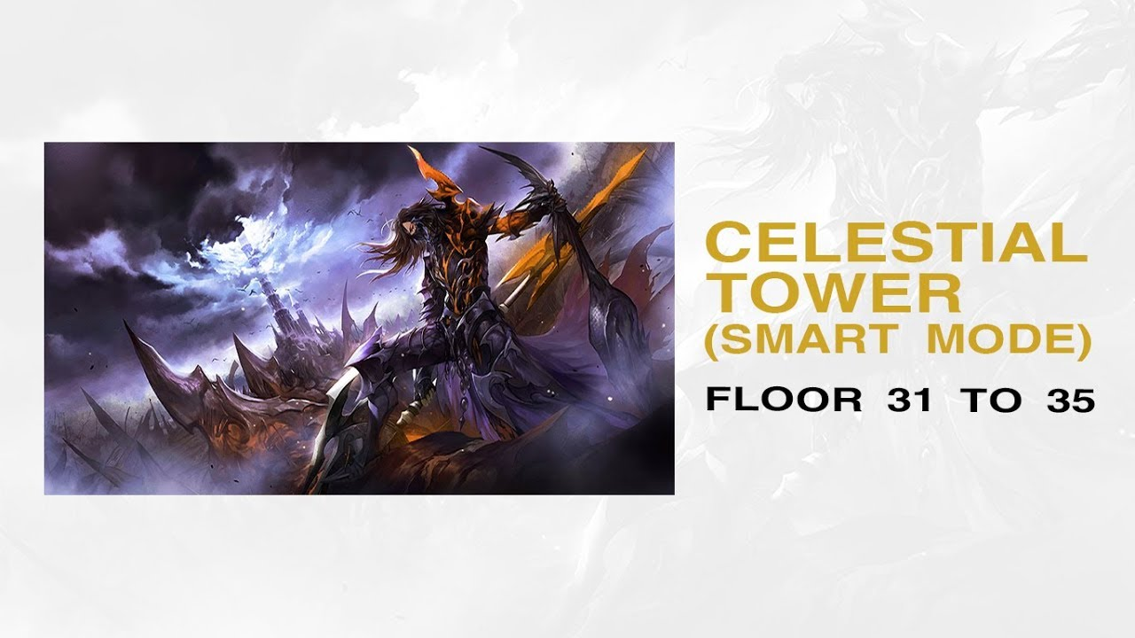 SEVEN KNIGHTS] CELESTIAL TOWER (Smart Mode) ~Floor 31 to 35