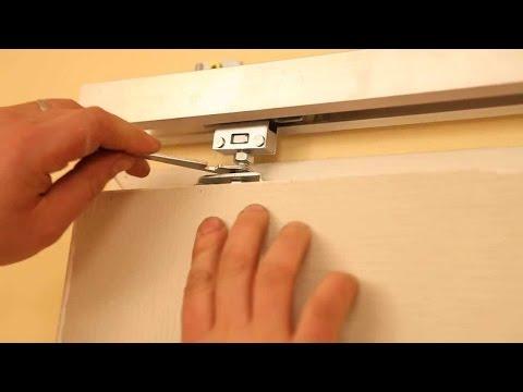 Как устанавливаются раздвижные межкомнатные двери?