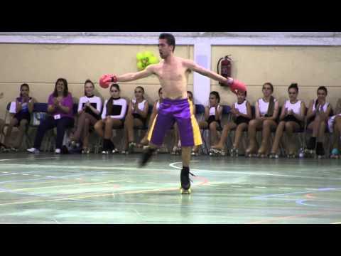 Pierluca Tocco. V Gala Internacional de Patinaje de Ontígola.
