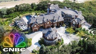 Secret Lives Super Rich: See Inside A $42.5 Million Nantucket Mega-Mansion | CNBC Prime