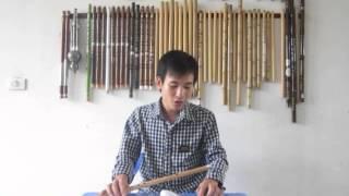 Hướng dẫn Ánh trăng nói hộ lòng tôi -clip 2 - sáo trúc Cao Trí Minh