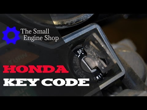 How To Find Your Motorcycle Key Code - Lost Key?