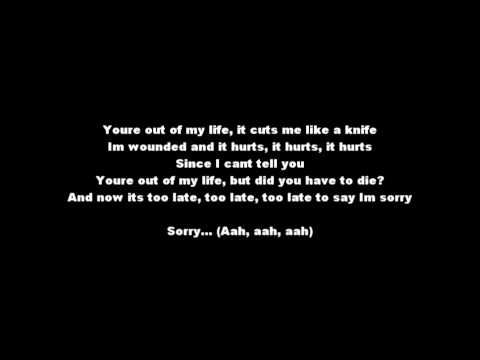 Darin - You're Out Of My Life (Lyrics Melodifestivalen 2010 ESC)