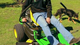 John Deere Z335E Zero-turn Mower at Vanderfield