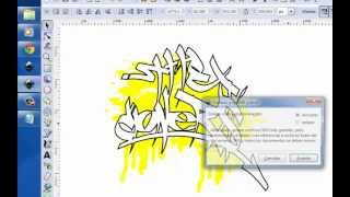 tutorial inkscape tag muy facil con efectos sin photoshop