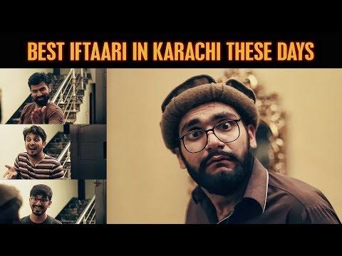 Best IFTAARI In Karachi These Days | Karachi Vynz Official
