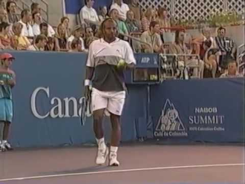Ronald Agenor vs Gustavo Kuerten, 1st Round Montréal ATP Masters Series 2001