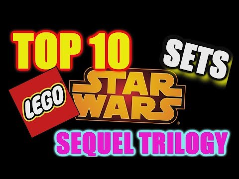 TOP 10 LEGO Star Wars sequel trilogy sets!