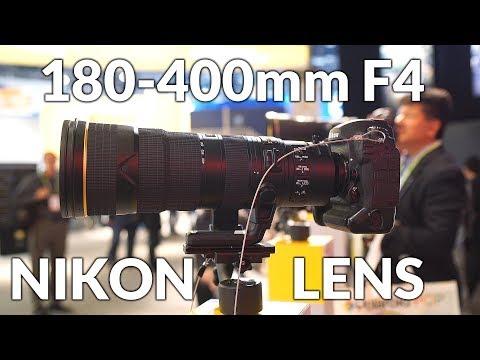 Nikon 180-400mm F4 E TC1.4 FL VR lens