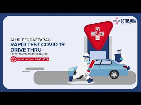 Alur Pendaftaran Rapid Test Covid-19 Drive Thru Bethsaida Hopital