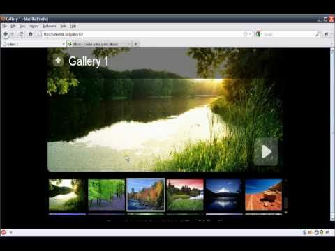 How to create a photo gallery for your Web Easy website