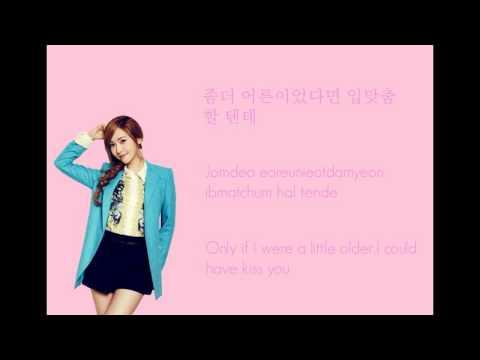 Jessica & Krystal (제시카 & 크리스탈)-Butterfly (Colour Coded Hangul/Rom/Eng Lyrics)