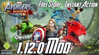 MARVEL: Avengers Academy 1.12.0 Mod (Free Store, Instant Action, Free Upgrade) APK