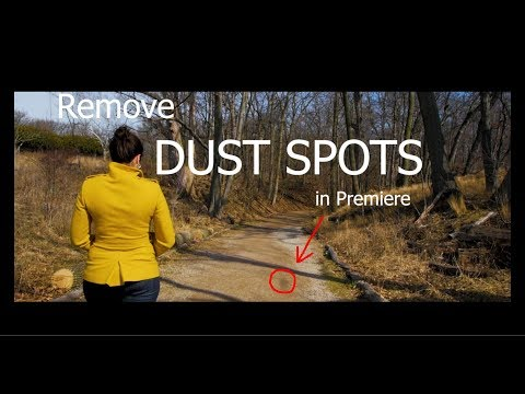 How to remove DUST SPOTS in 30 seconds