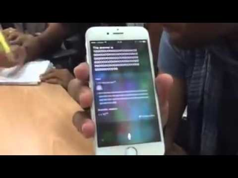 Siri Rap song | These guys are insane..! (iphone)