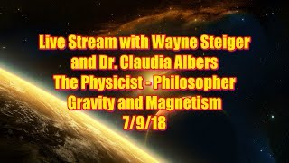 The Physicist - Philosopher 7/9/18 Gravity and Magnetism