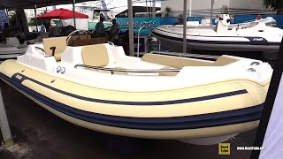 2020 AB Inflatable Nautilus 15 DLX tender Walkaround Tour - 2020 Fort Lauderdale Boat Show