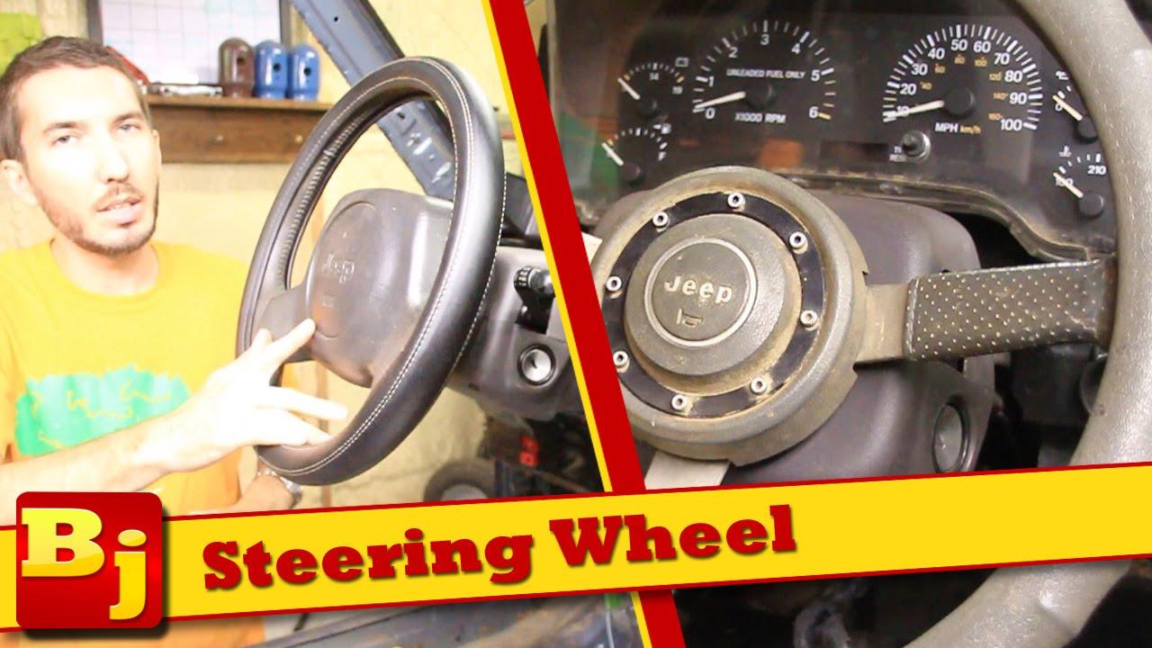 Jeep Jk Wheels >> 88' Steering wheel in a 98' XJ?? - YouTube