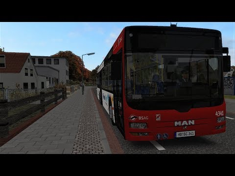 OMSI 2 Bremen-Nord 97 Speedvideo - MAN Lion's City A37 |