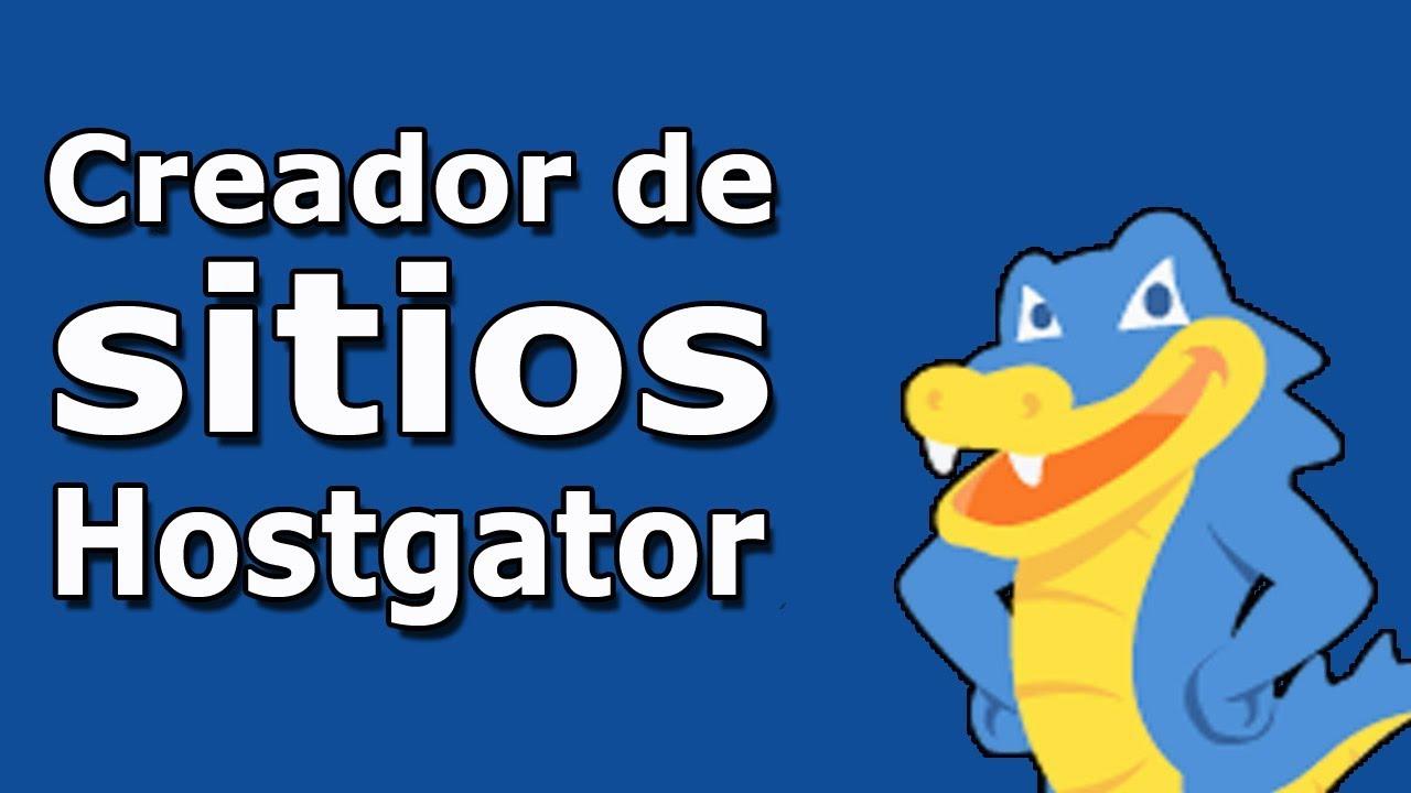 CREADOR DE SITIOS DE HOSTGATOR